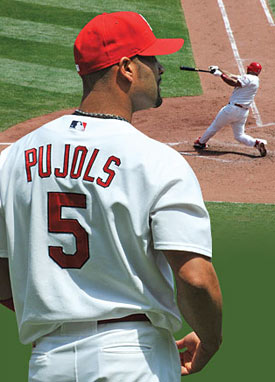 Albert Pujols helps underprivileged children to keep smiling.