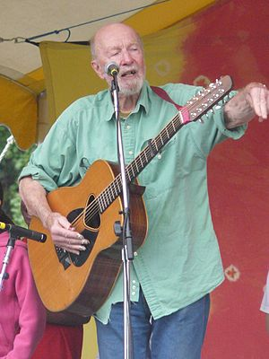 Pete Seeger, Pamela Means, Magpie; Clearwater ...